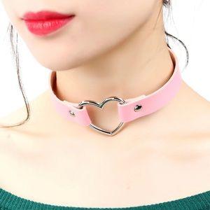 Heart Punker Style Collar Choker